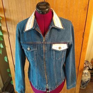 70's Vintage Chrissy Designed Jean Jacket